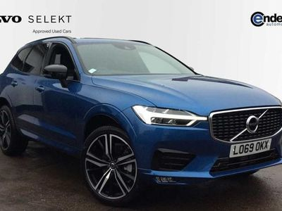 used Volvo XC60 II T5 AWD R-Design Pro Automatic estate