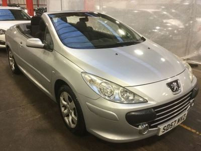 used Peugeot 307 CC 1.6 S 2dr