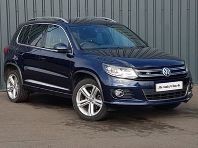 used VW Tiguan 2.0 TDi BlueMotion Tech R Line Edition 150 5dr DSG Auto