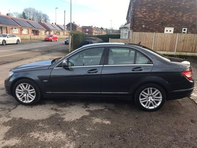 used Mercedes C220 C Class 2.1CDI Elegance 4dr