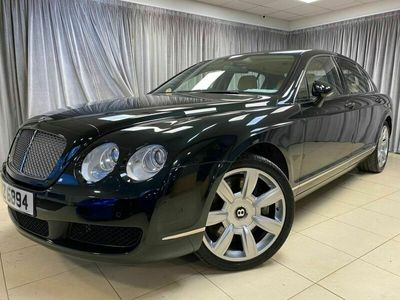 used Bentley Continental Flying Spur 6.0 FLYING SPUR 4 SEATS 4d 550 BHP