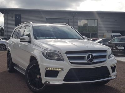 used Mercedes GL350 GLBlueTEC AMG Sport 5dr Tip Auto