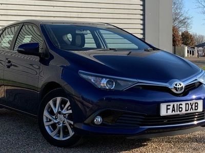 used Toyota Auris 2016 Waterlooville VVT-I BUSINESS EDITION