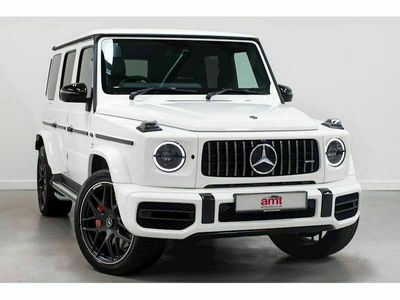 used Mercedes G63 AMG G Class 4.0V8 BiTurbo AMG SUV 5dr Petrol SpdS+9GT 4WD (s/s) (585 ps)