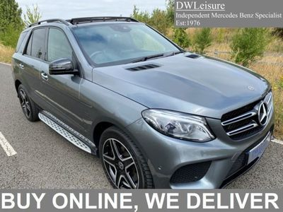 used Mercedes GLE500 GLE4Matic AMG Night Edition Premium Plus Petrol Hybrid Auto PAN ROOF