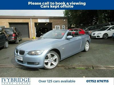 used BMW 320 Cabriolet 2.0 320I SE 2d 168 BHP