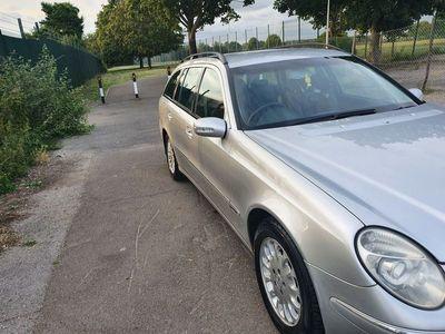 used Mercedes E270 E Class 2.7CDI Elegance 5dr