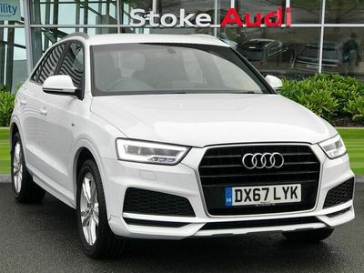 used Audi Q3 S line Edition 1.4 TFSI cylinder on demand 150 PS S tronic 5dr