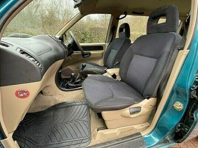 used Nissan Terrano 2.7 TDi SE 4x4 LWB Diesel 7 Seater 5dr Long MOT Met Green