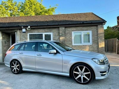 used Mercedes C200 C Class 2.1CDI BlueEFFICIENCY Sport G-Tronic 5dr