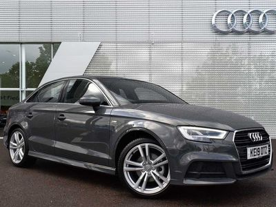 used Audi A3 Saloon S line 35 TDI 150 PS 6-speed 4dr