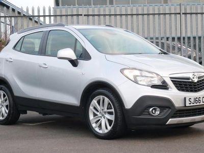 used Vauxhall Mokka 1.4T Exclusiv 5dr Silver Manual Petrol