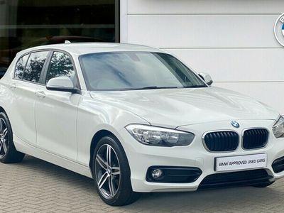 used BMW 118 1 Series i [1.5] Sport 5dr [Nav/Servotronic] hatchback 2018