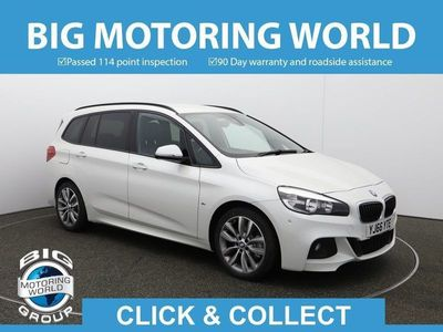 used BMW 220 Gran Tourer 2 Series D XDRIVE M SPORT for sale | Big Motoring World
