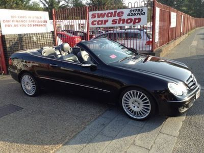 used Mercedes CLK350 Avantgarde 2dr Tip Auto