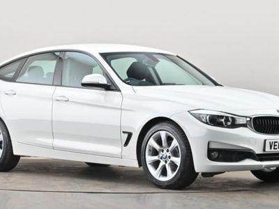 used BMW 318 3 SERIES GT d SE 5dr White Manual Diesel