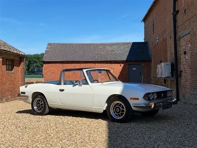 used Triumph Stag Overdrive