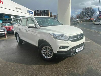 used Ssangyong Musso 2.2d EX Double Cab Pickup 4WD EU6 4dr