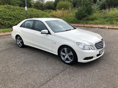used Mercedes E220 E Class 2.1CDI BlueEFFICIENCY SE Edition 125 (s/s) 4dr