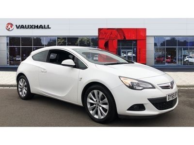 used Vauxhall Astra GTC 1.4T 16V SRi 3dr Petrol Coupe