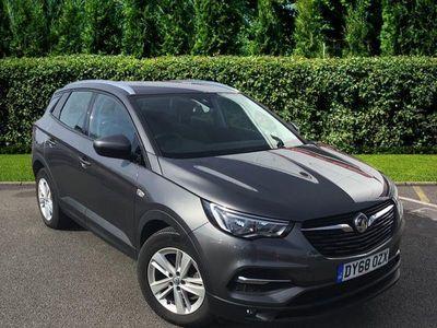used Vauxhall Grandland X X Se Turbo D S/ Hatchback 2018