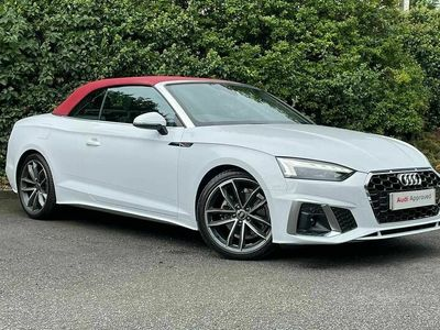used Audi A5 Cabriolet S line 35 TFSI 150 PS S tronic Convertible 2021
