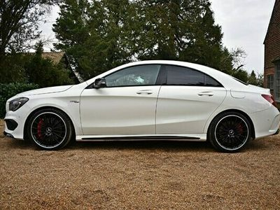 used Mercedes CLA45 AMG CLA-Class AMG4Matic 4d Tip Auto