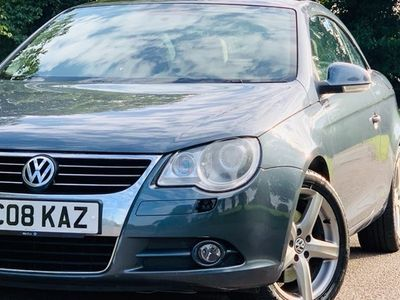 used VW Eos Coupe Cabriolet 2.0T Sport FSI 2d DSG