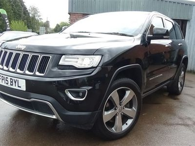 used Jeep Grand Cherokee V6 CRD LIMITED