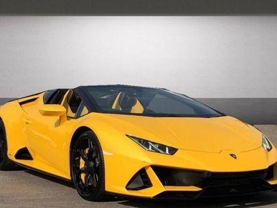 used Lamborghini Huracán EVO Spyder LP 640-4
