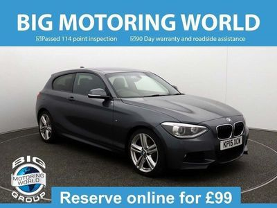 used BMW 118 1 Series D M SPORT 2.0 3dr