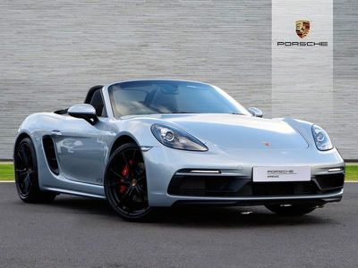 used Porsche 718 Boxster GTS