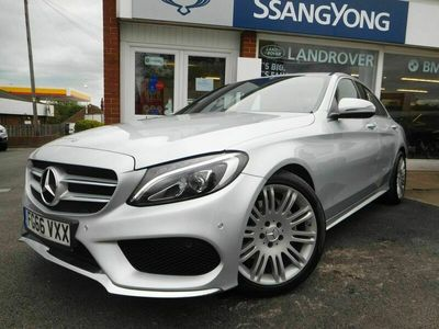 used Mercedes C200 C Class 1.6AMG Line G-Tronic+ (s/s) 4dr