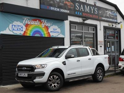 used Ford Ranger 3.2 TDCi Wildtrak Double Cab Pickup Auto 4WD 4dr