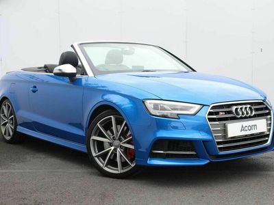 used Audi S3 Cabriolet 2.0 TFSI S Tronic quattro (s/s) 2dr
