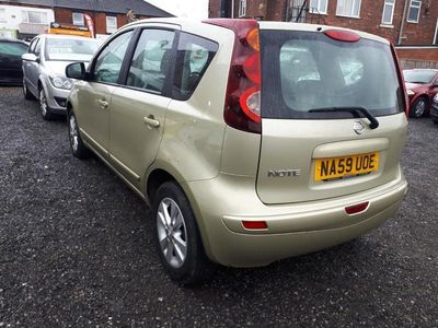 used Nissan Note 1.6 Acenta 5dr Auto