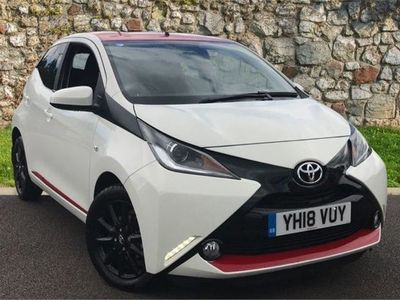 used Toyota Aygo 1.0 VVT-i x-press 5-Dr 5dr