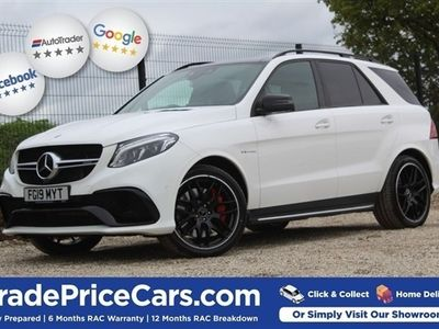 used Mercedes GLE63 AMG GLE 5.5 AMGS 4MATIC NIGHT EDITION 5d 577 BHP