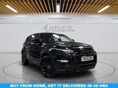 used Land Rover Range Rover evoque 2.2 SD4 DYNAMIC LUX 5d 190 BHP Auto 5-Door