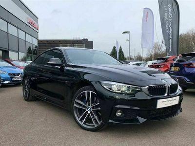 used BMW 420 4 Series d [190] xDrive M Sport 2dr Auto [Prof Media]