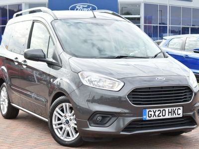 used Ford Tourneo 1.5 TDCi Titanium 5dr