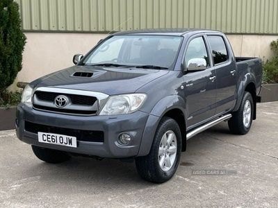used Toyota HiLux 3.0 INVINCIBLE 4X4 D-4D DCB 169 BHP