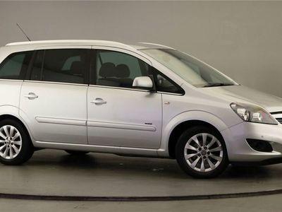 used Vauxhall Zafira 1.8 i VVT 16v Design 5dr