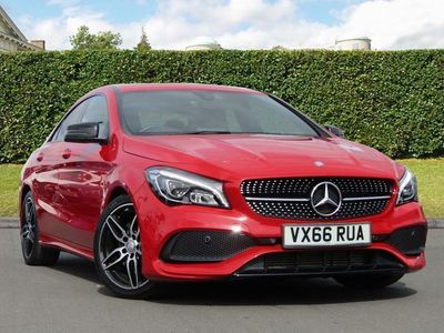 used Mercedes CLA220 CLA CLASSAMG Line 4dr Tip Auto Automatic diesel coupe