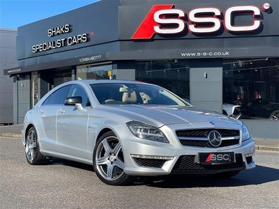 used Mercedes CLS63 AMG CLS 5.5BlueEFFICIENCY AMG 7G-Tronic Plus (s/s) 4dr