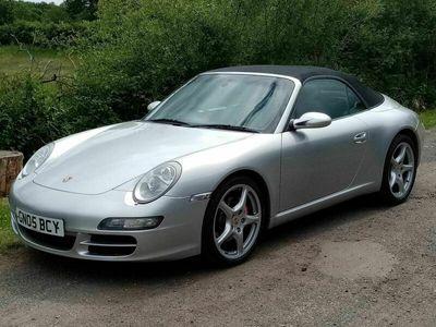 used Porsche 911 Carrera Cabriolet 911 3.6 997 2dr