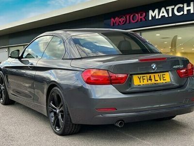used BMW 420 4 Series 2.0TD d Sport Convertible 2d Auto