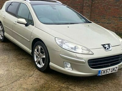 used Peugeot 407 2.0 SW GT HDI 5d 135 BHP - TRADE CLEARANCE, SOLD AS SEEN, LONG MOT