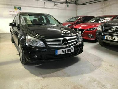 used Mercedes C200 C Class 2.1CDI BlueEFFICIENCY SE (Executive) 4dr