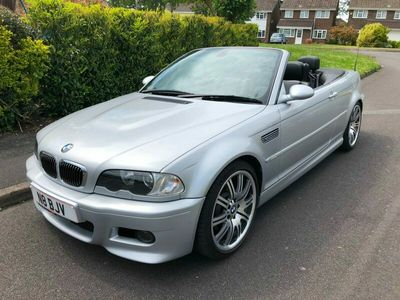 used BMW M3 M3Convertible Saloon 2002
